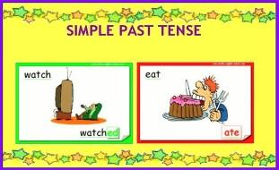 Simple past tense2